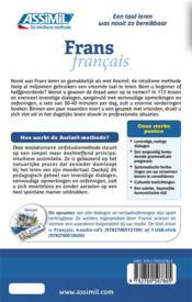 Frans ; B2 - 4ème de couverture - Format classique