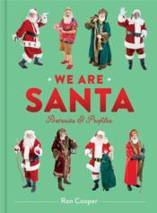 We are santa portraits and profiles - Couverture - Format classique