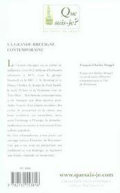 La Grande-Bretagne contemporaine (5e édition) - 4ème de couverture - Format classique