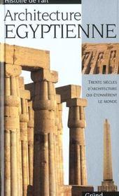 L'Architecture Egyptienne - Intérieur - Format classique
