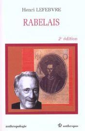 Rabelais (2e Edition) - Intérieur - Format classique