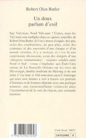 Un Doux Parfum D'Exil - 4ème de couverture - Format classique