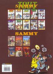 Sammy t.37 ; Lady O - 4ème de couverture - Format classique