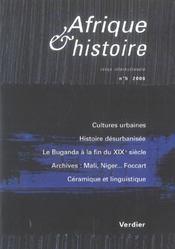 Afrique Et Histoire T.5 - Intérieur - Format classique