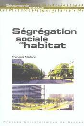 Segregation sociale et habitat - Intérieur - Format classique