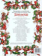 Iznogoud: un monstre sympathique - 4ème de couverture - Format classique