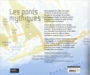 Les ponts mythiques - 4ème de couverture - Format classique