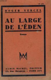 Au Large De L'Eden. - Couverture - Format classique