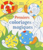 Premiers coloriages magiques - Couverture - Format classique