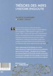 Trésor des mers, l'histoire engloutie - 4ème de couverture - Format classique