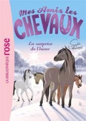 Mes amis les chevaux T.7 ; la surprise de l'hiver - Couverture - Format classique