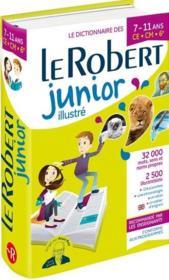 Dictionnaire le Robert junior illustré ; 7/11 ans ; CE, CM, 6e (édition 2019) - Couverture - Format classique