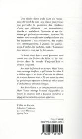 Du paillasson considéré du point de vue des hérissons - 4ème de couverture - Format classique
