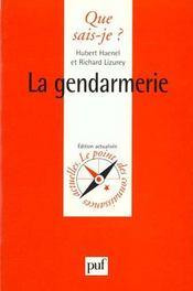 La gendarmerie - Intérieur - Format classique