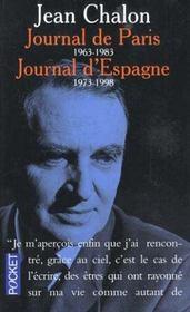 Journal De Paris Journal D'Espagne 1963-1983 1973-1998 - Intérieur - Format classique