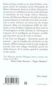 Journal De Paris Journal D'Espagne 1963-1983 1973-1998 - 4ème de couverture - Format classique
