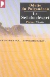 Le sel du désert - Couverture - Format classique
