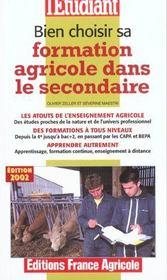 Bien Choisir Sa Formation Agricole Dans Le Secondaire - Intérieur - Format classique