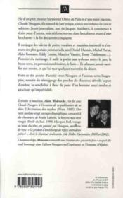 Nougaro ; une vie qui rime à quelque chose - 4ème de couverture - Format classique