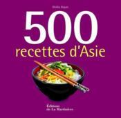 500 recettes d'Asie - Couverture - Format classique