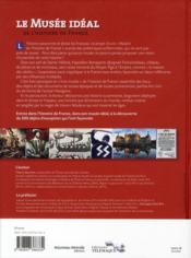 Le musée idéal de l'histoire de France - 4ème de couverture - Format classique