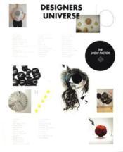 Designers Universe The Wow Factor /Anglais - Couverture - Format classique