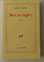 Des Aveugles. - Couverture - Format classique