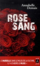 Rose sang - Couverture - Format classique