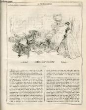 LA VIE PARISIENNE 4e année - N° 36 - DECEPTION, H...OFF. - UN CHANGEMENT DE GARNISON, DEPART DE TURCOS - COMMENT J'AI OUVERT LA CHASSE - PROMENADES DANS LONDRES - JOSEPH A L'OPERA-COMIQUE - HOMMES ET FEMMES DE CHEVAL. - Couverture - Format classique