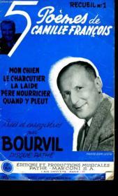 Recueil N° 5. 5 Poemes De Camille Francois Crees Et Enregistres Par Borvil. - Couverture - Format classique