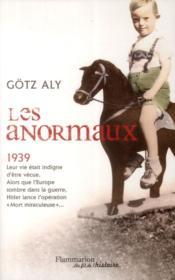 Les anormaux, 1939 - Couverture - Format classique