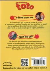 Toto un copain en or - 4ème de couverture - Format classique