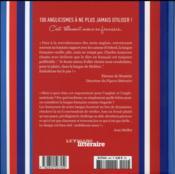 100 anglicismes à ne plus jamais utiliser ! c'est tellement mieux en français... - 4ème de couverture - Format classique