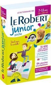 Le dictionnaire le Robert junior ; 7/11 ans ; CE, CM, 6e (édition 2019) - Couverture - Format classique