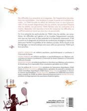 Manuel de l'hyperactivité et du déficit de l'attention ; le TDAH chez l'adulte - 4ème de couverture - Format classique