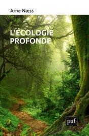 L'écologie profonde - Couverture - Format classique