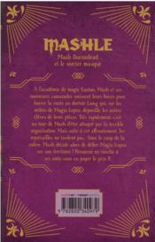 Mashle T.3 - 4ème de couverture - Format classique