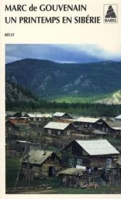 Un printemps en Sibérie - Couverture - Format classique