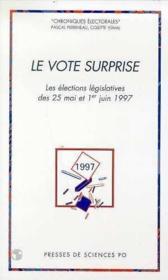 Le vote surprise - Couverture - Format classique