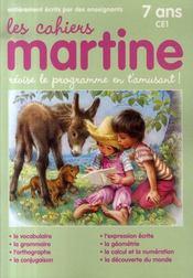 Les cahiers de Martine ; CE1 - Intérieur - Format classique