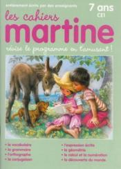 Les cahiers de Martine ; CE1 - Couverture - Format classique