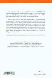 Crise Intellectuelle Et Politique En Espagne - 4ème de couverture - Format classique