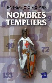 Nombres templiers - Intérieur - Format classique
