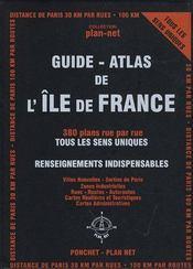 Guide-atlas de l'Ile-de-France - Intérieur - Format classique