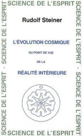 Evolution cosmique - Couverture - Format classique