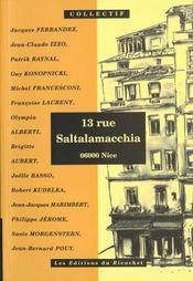 13 rue saltalamacchia ; 06000 nice - Intérieur - Format classique