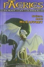 Faeries 23 ; spécial anne mccaffrey - Couverture - Format classique