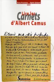 Lire les carnets d'albert camus - Couverture - Format classique