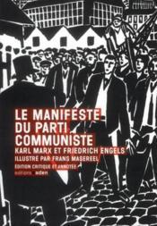 Manifeste du parti communiste illustré - Couverture - Format classique
