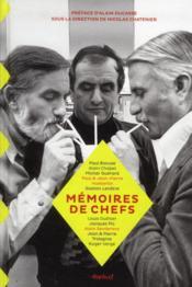 Mémoires de chefs - Couverture - Format classique